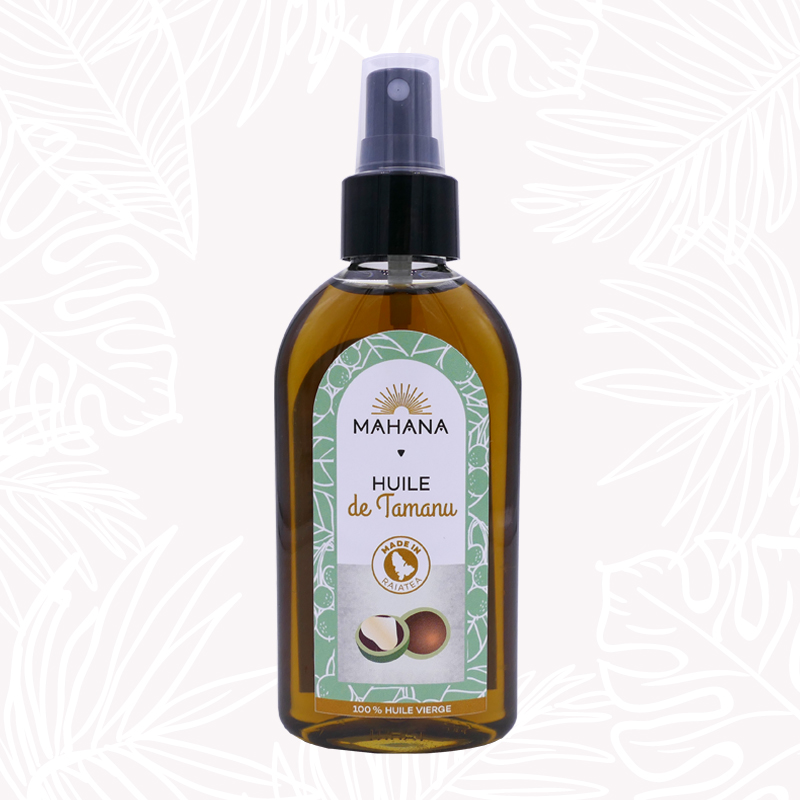 huile de tamanu 120ml Mahana Monoi